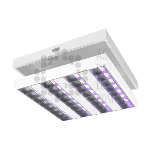 Comprar luminaria equipo LED con luz UVC para desinfección caja