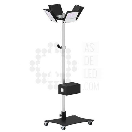 Comprar equipo LED UV-C para desinfección con ruedas - Solución portátil 01