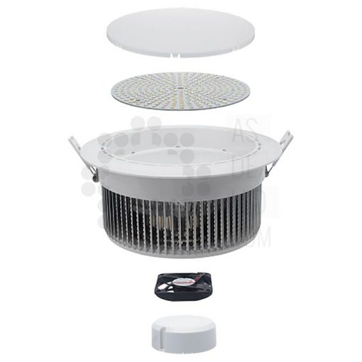 Comprar downlight LED 60W para supermercados - FOE60EPLE 02