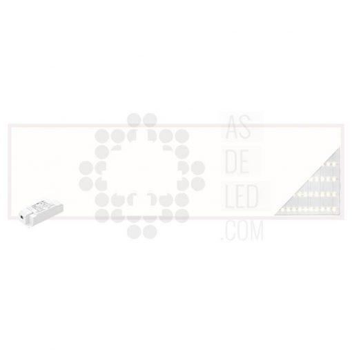 Comprar panel LED 30X120CM y 40W con luz directa a suelo - PL40PH30X120BACK 01