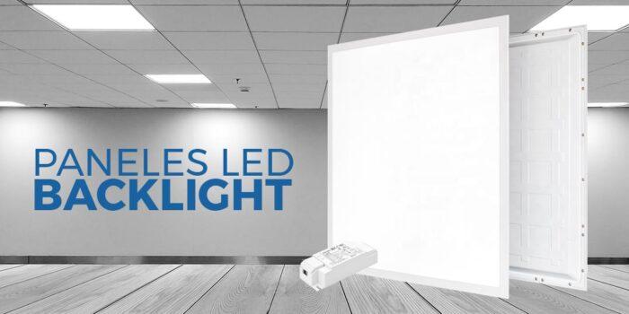 Comprar paneles de luz LED 40W con luz directa a suelo backlit