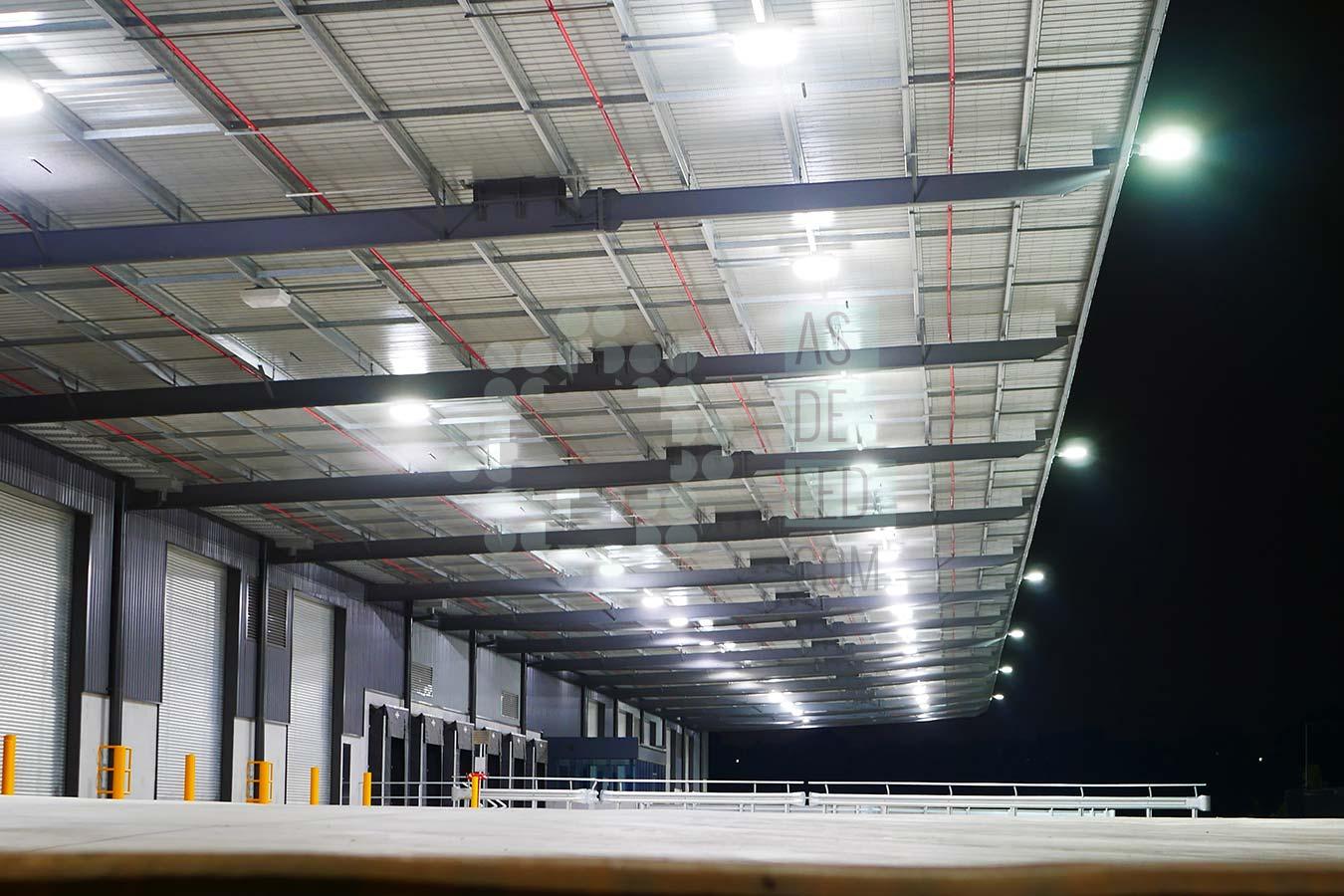 Comprar productos de iluminacion LED para naves industriales - Landing