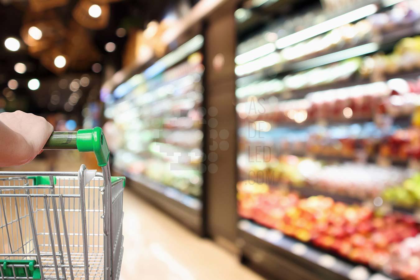 Comprar iluminacion LED para supermercados y alimentacion - Landing