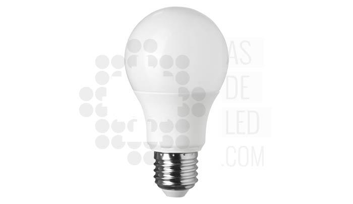 Equivalencia bombilla LED E27 con otras bombillas halogenas o bajo consumo