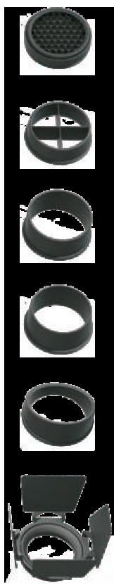 Accesorios para foco LED carril OPTIK PRO - Matisse LED