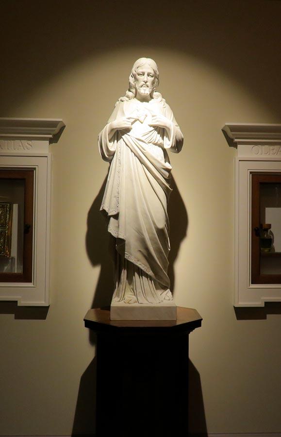 Iluminacion LED para estatuas y esculturas con foco LED FALCO Matisse