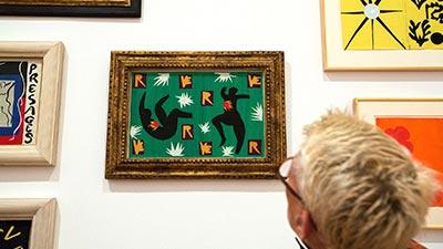 Exposicion de cuadros del artista Matisse 03