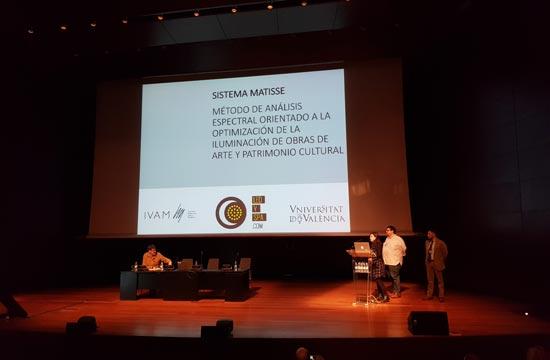 Presentacion Matisse LED en el MNCARS (Madrid) año 2018