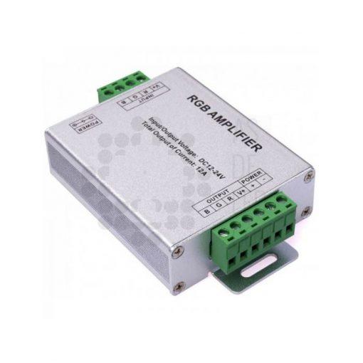 Comprar amplificador de potencia para tiras LED a 12V y 24V - 288W RGB