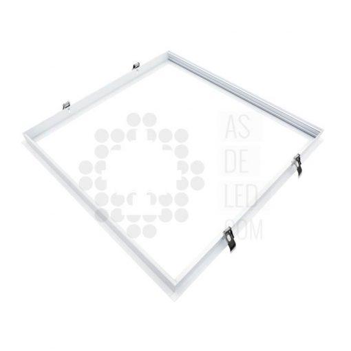 Comprar marco empotrable para paneles de LED - Aluminio 60X60