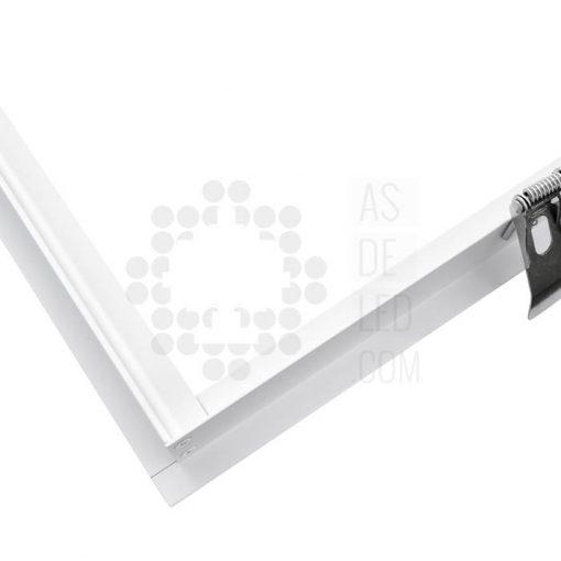 Comprar marco empotrable para paneles de LED - Aluminio detalle