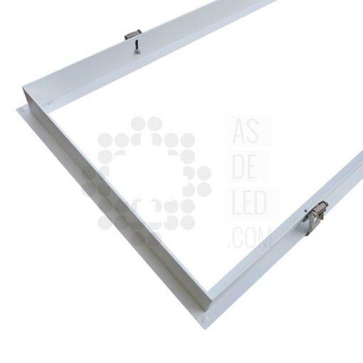 Comprar marco empotrable para paneles de LED - Aluminio rectangular