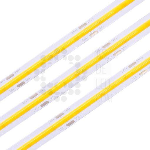 Comprar tiras LED COB para uso en interior - 24V - Monocolor - 02