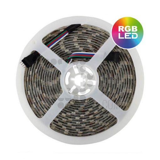 Comprar tira de LED RGB (colores) para uso en interior - 24V - 5M - 01