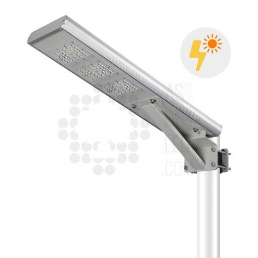 Comprar farola LED solar 20W con panel fotovoltaico y batería - 01