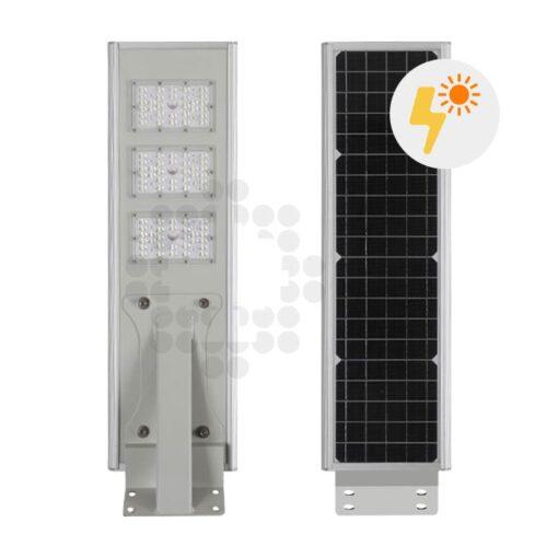 Comprar farola LED solar 20W con panel fotovoltaico y batería - 03