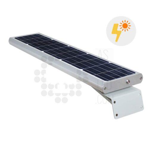 Comprar farola LED solar 20W con panel fotovoltaico y batería - 02