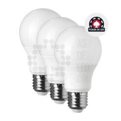 Comprar pack de bombillas de LED E27 6W - Rosca 100% compatible 01