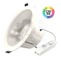 Comprar downlight LED profesional 45W CRI 98 - ¡Hecho en España!