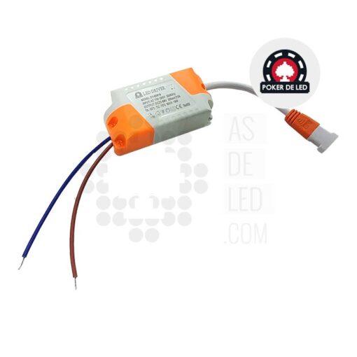 Comprar placa LED slim empotrable redondo 18W - POKER DE LED 02