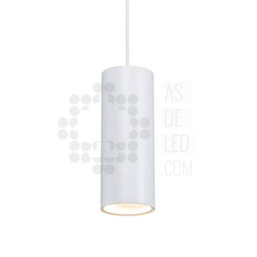 Comprar lámpara LED colgante tubular - 20W LED - Blanca aluminio