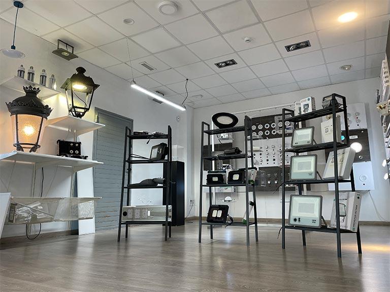 Showroom ASDELED en Xirivella - Fabricante LED en España 02