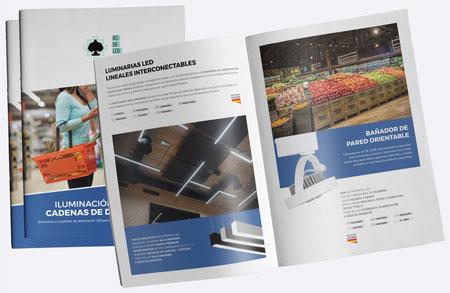 Catalogo iluminacion LED para supermercados y tiendas - ASDELED